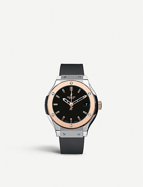 HUBLOT: 581.no.1180.rx classic fusion titanium king watch