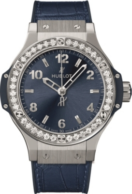 HUBLOT 361.SX.7170.LR.1204 Big Bang Automatic Stainless Steel Blue Dial Unisex Watch