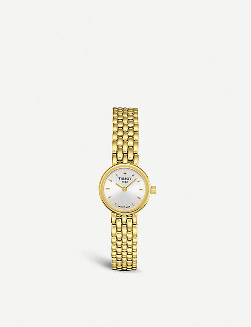 TISSOT: T058.009.33.031.00 Lovely yellow gold watch