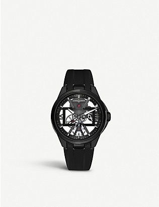 ULYSSE NARDIN: Executive Skeleton X titanium and rubber watch