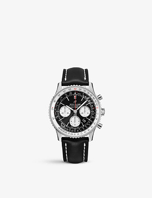 BREITLING AB012012|BB01|435X Navitimer 01 stainless steel watch