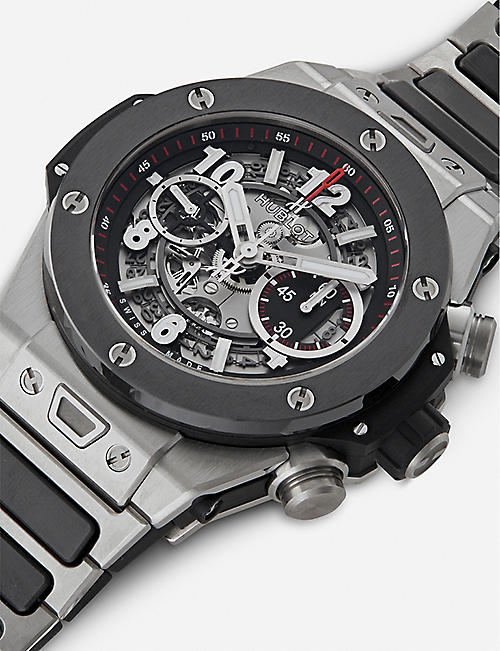 HUBLOT 411.nm.1170.nm Big Bang UNICO titanium automatic watch