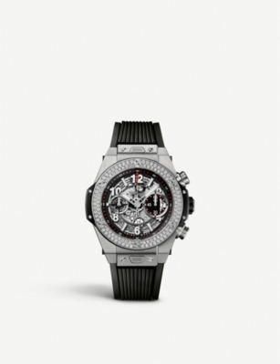 HUBLOT 411.NX.1170.RX.1104 Big Bang Unico titanium watch