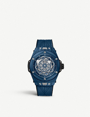 HUBLOT 415.EX.7179.VR.MXM19 Big Bang Sang Bleu ceramic watch