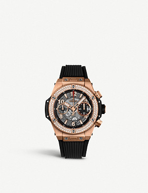 HUBLOT 441.NX.1170.RX.1104 Big Bang UNICO titanium and diamond watch