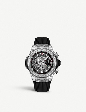 HUBLOT 441.NX.1170.RX.1704 Big Bang UNICO titanium and diamond watch