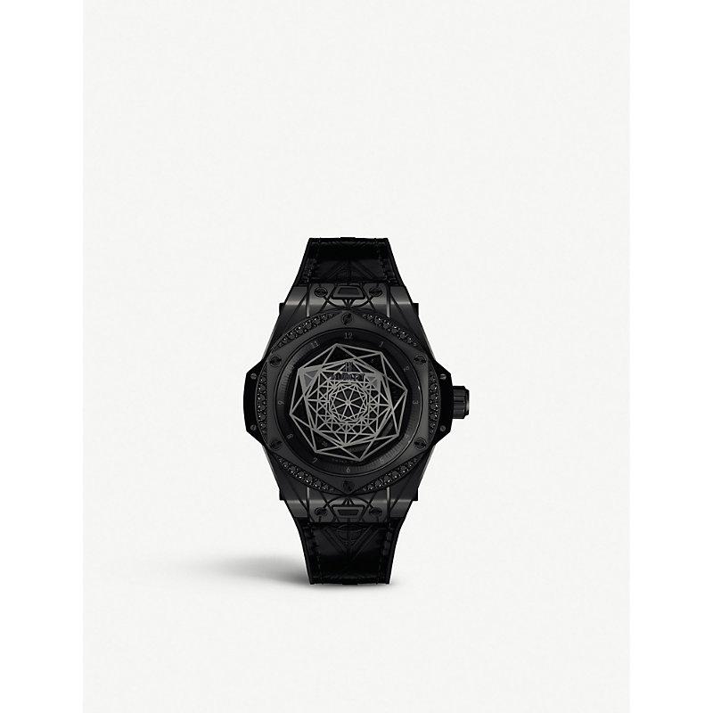 HUBLOT Big Bang Ceramic Watch in Black