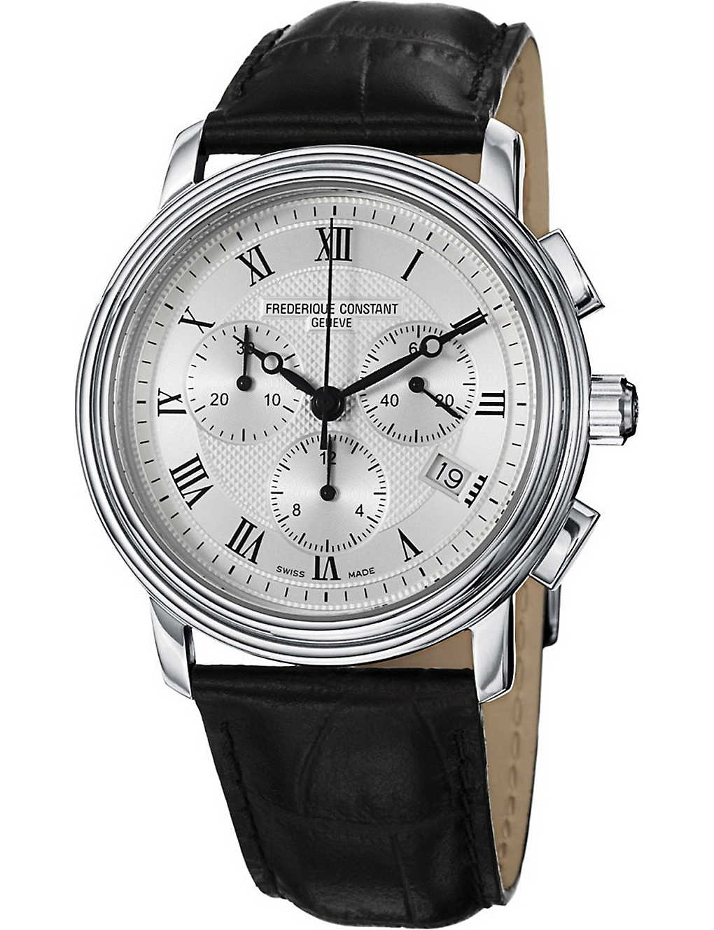 FREDERIQUE CONSTANT: FC-292MC4P6 Classics Chronograph stainless steel watch