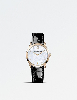 GIRARD-PERREGAUX 4952852771CK6A Classique rose-gold and mother-of-pearl automatic watch