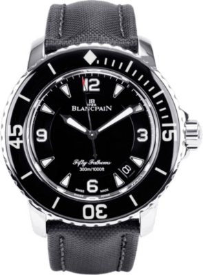 BLANCPAIN 5015-1130-52 Fifty Fathoms stainless steel watch