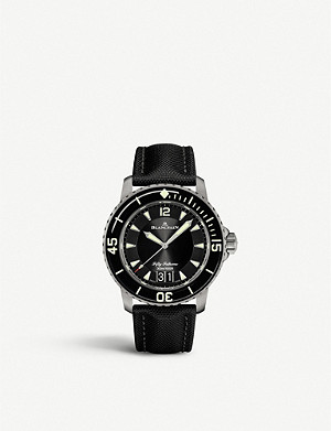 BLANCPAIN 5050-12B30-B52A Fifty Fathoms titanium watch