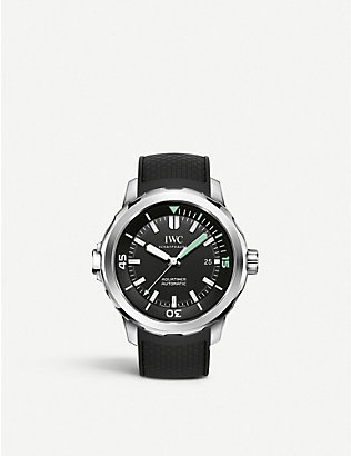 IWC SCHAFFHAUSEN: IW329001 aquatimer stainless steel watch
