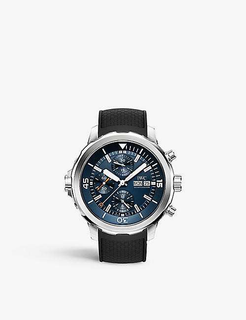IWC SCHAFFHAUSEN IW376805 aquatimer cousteau watch