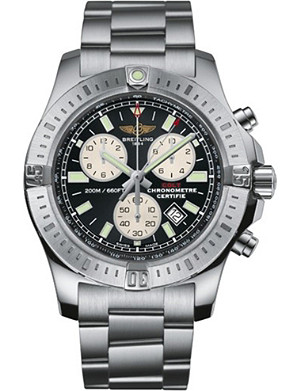 BREITLING A7338811|BD43|173A Colt chronograph stainless steel watch