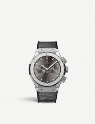 HUBLOT 541.NX.7070.LR Classic Fusion Racing Grey Chronograph titanium watch