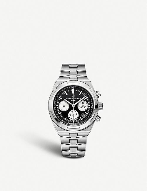 8a71a18ce1e VACHERON CONSTANTIN 5500V 110A-B481 Overseas stainless steel chronograph  automatic watch