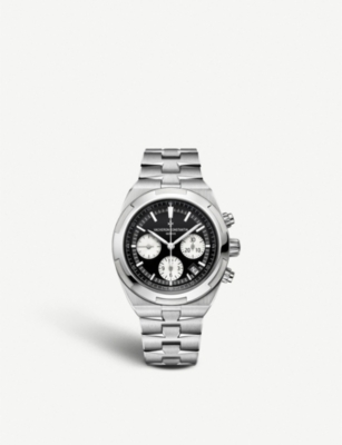 VACHERON CONSTANTIN 5500V/110A-B481 Overseas stainless steel chronograph automatic watch
