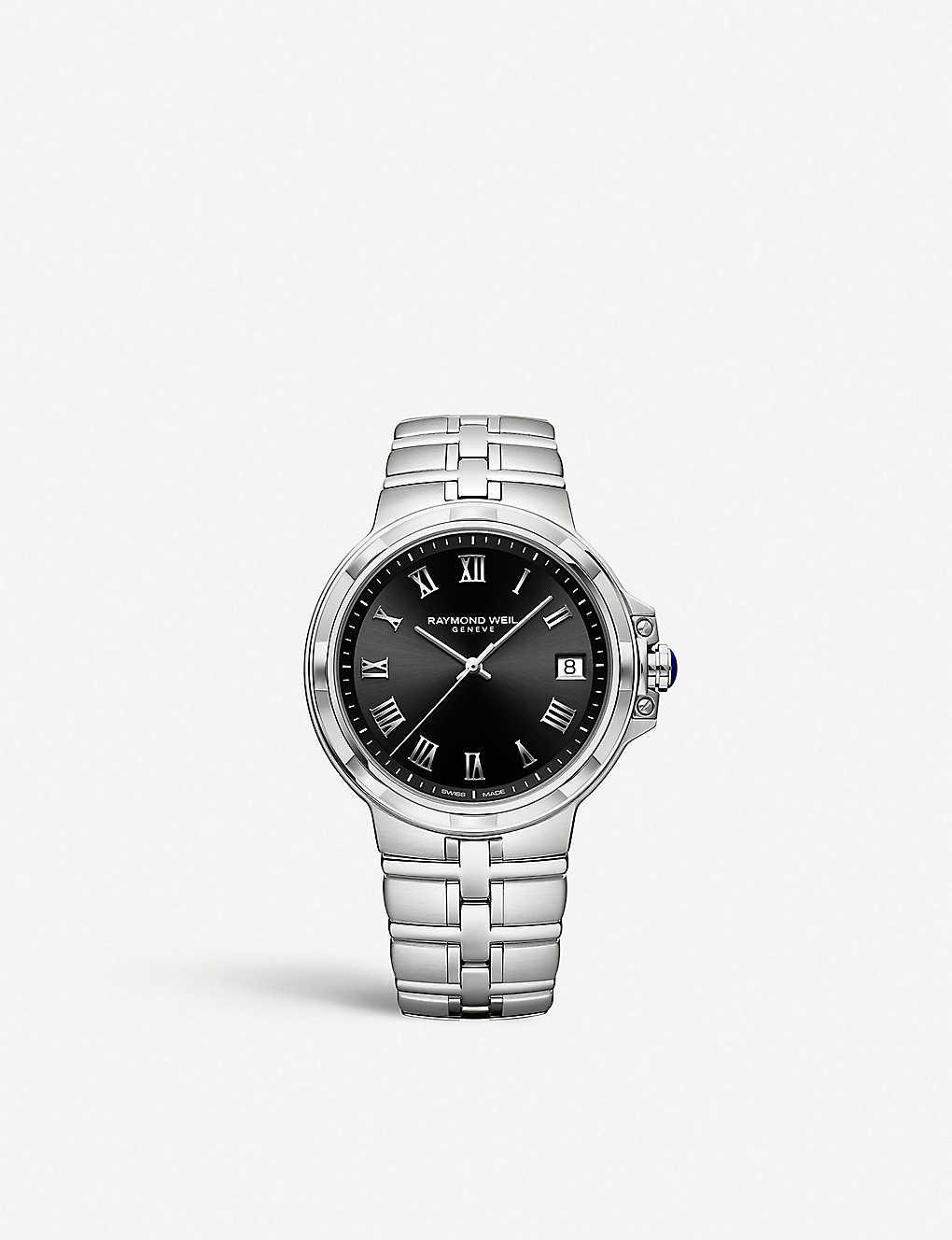 Raymond Weil 5580 St 00208 Parsifal Stainless Steel Quartz Watch