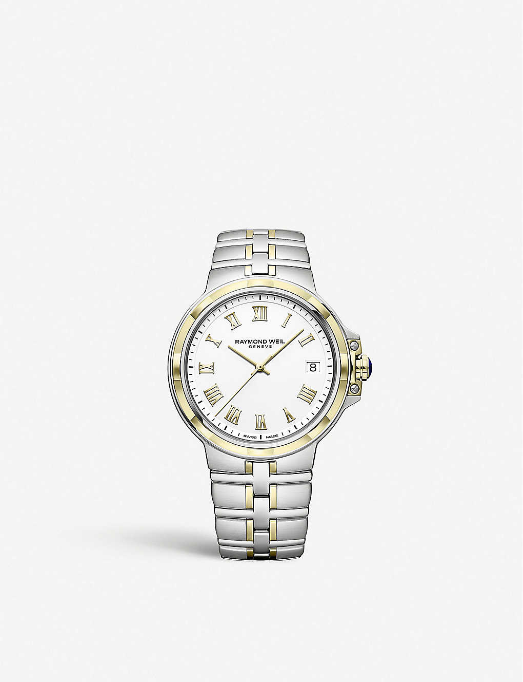 Raymond Weil 5580 Stp 00308 Parsifal Gold Toned And Stainless