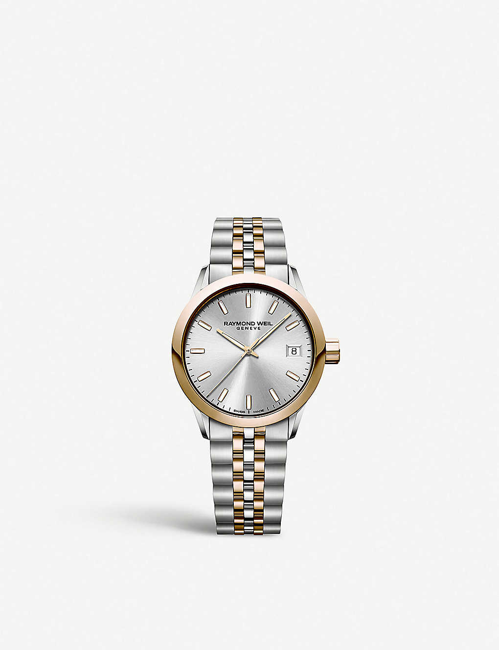 Raymond Weil 5634sp565021 Freelancer Two Tone Stainless Steel
