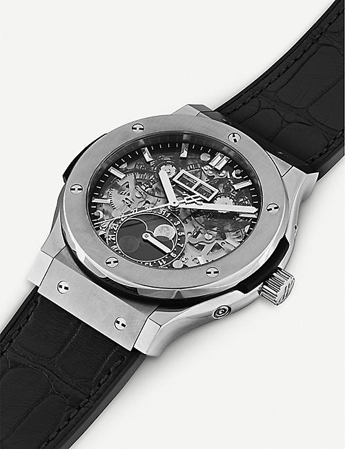 HUBLOT 517.NX.0170.LR Aerofusion Titanium Moonphase Watch