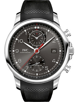 IWC SCHAFFHAUSEN IW390503 Portugieser stainless steel and rubber watch