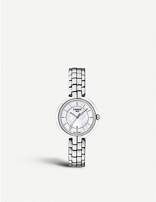 TISSOT: T094.210.11.111.00 Flamingo stainless steel watch