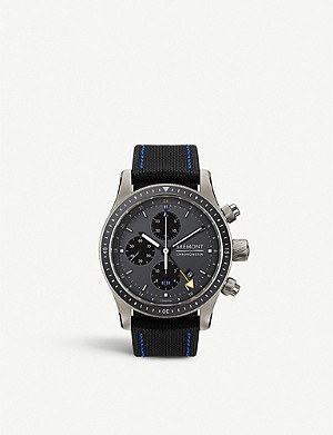 BREMONT BB247-TI-GMT/DG Boeing 100 titanium and nylon chronograph watch