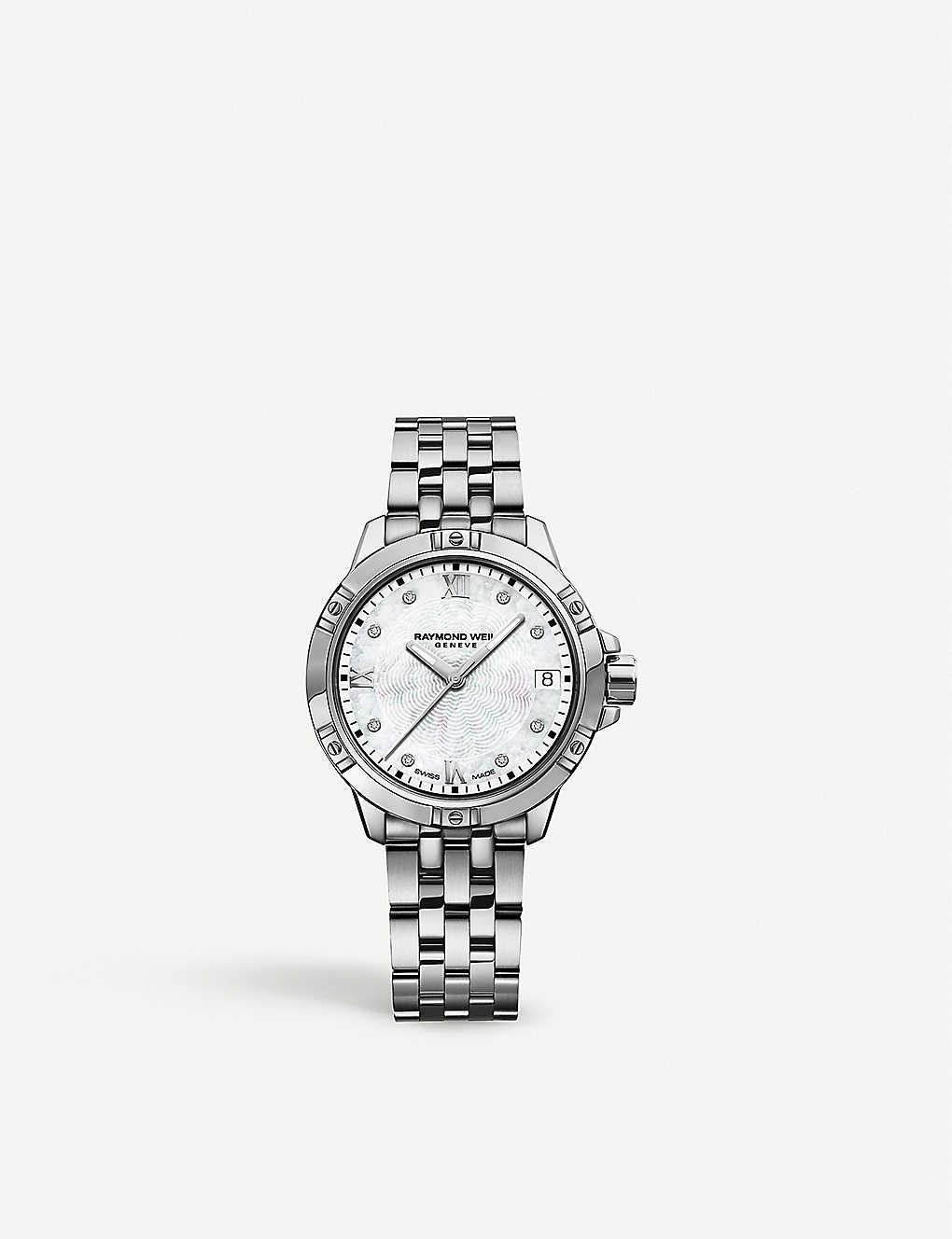 Raymond Weil 5960 St 00995 Tango Stainless Steel And Diamond Watch