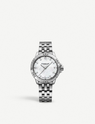 RAYMOND WEIL 5960-ST-00995 Tango stainless steel and diamond watch