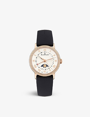 BLANCPAIN 6106364255A rose gold watch