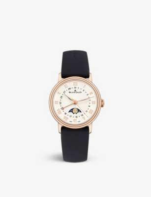 BLANCPAIN 6106364255A Rose Gold 手表