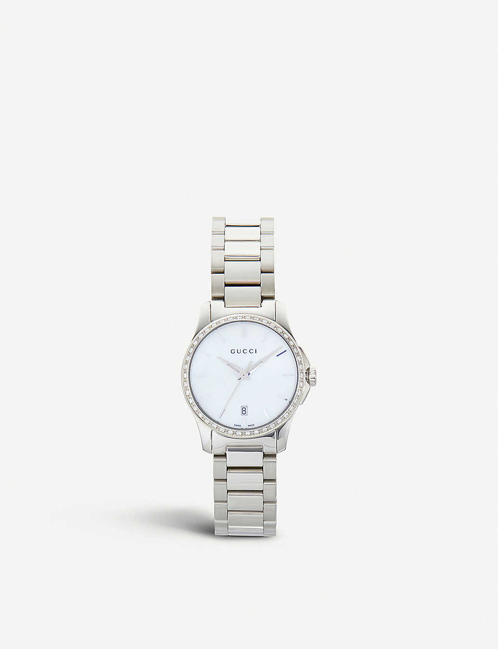 534a27ba49b GUCCI - YA126543 Mother of Pearl G Timeless watch
