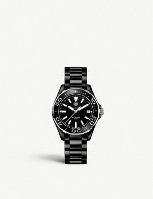 TAG HEUER WAY1390.BH0716 Aquaracer ceramic watch