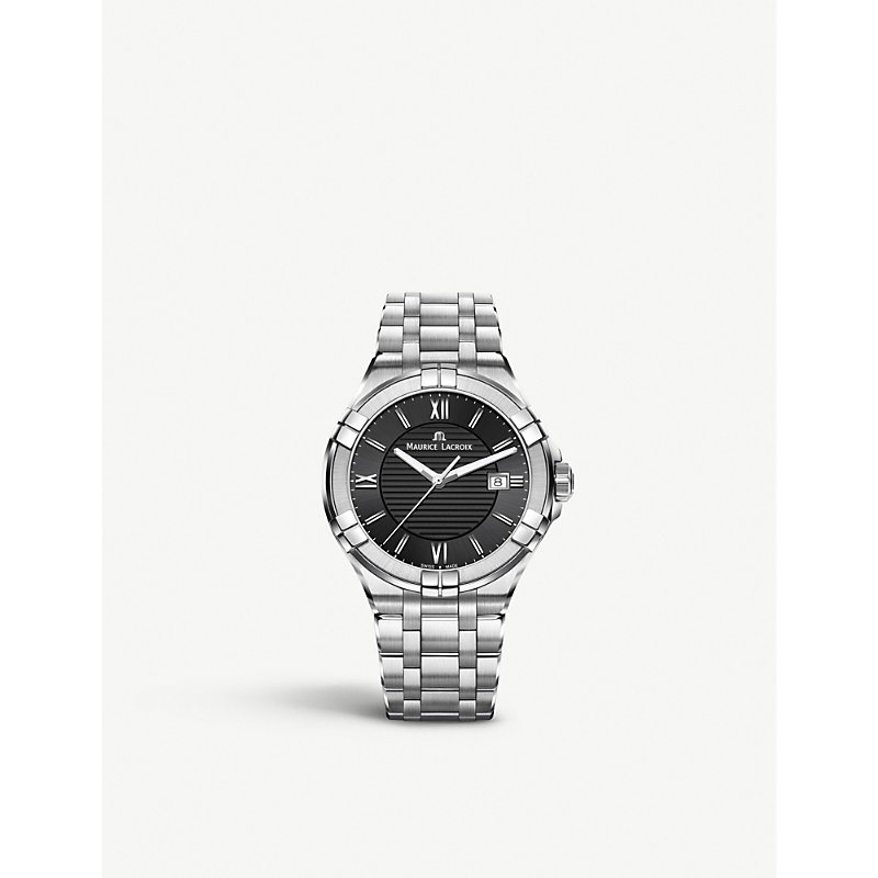MAURICE LACROIX Ai1006-Ss002-330-1 Aikon Stainless Steel Watch in Silver