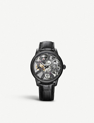 MAURICE LACROIX MP7228-PVB01-005-1 Masterpiece Skeleton PVD stainless steel watch