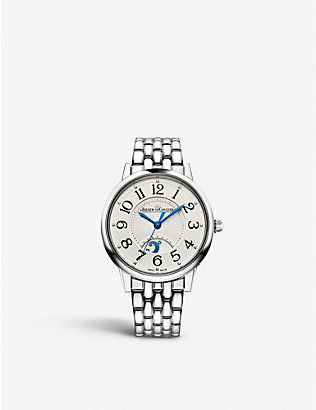 JAEGER-LECOULTRE: 3448110 Rendez-Vous Night & Day automatic diamond and stainless steel watch