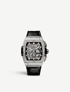 HUBLOT 641.NX.0173.LR.1104 Big Bang diamond and titanium watch