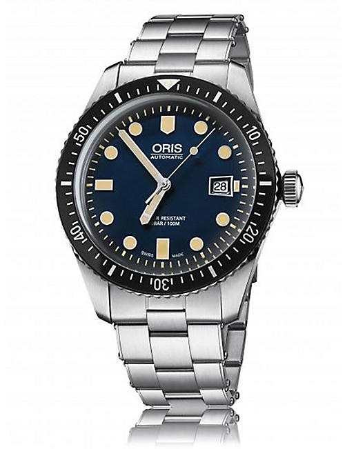 ORIS 733772040550782118 Divers Sixty-Five stainless steel diving watch