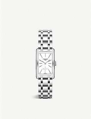 LONGINES: L55124116 DolceVita stainless steel watch