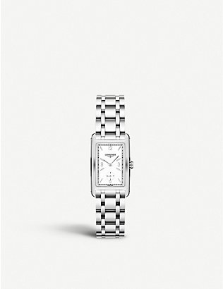 LONGINES: L5.512.4.16.6 DolceVita stainless steel watch