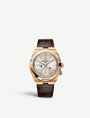 VACHERON CONSTANTIN 7900V/000R-B336 Overseas 18ct rose-gold watch