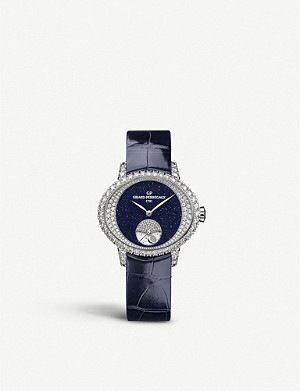 GIRARD-PERREGAUX 80488D53M4D1CK4A Cat's Eye Day and Night watch white-gold and diamond watch
