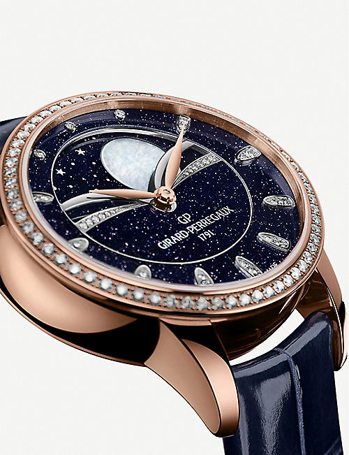GIRARD-PERREGAUX 80496D52A451-CK4A Cat's Eye Celestial rose gold, stainless steel and diamond watch
