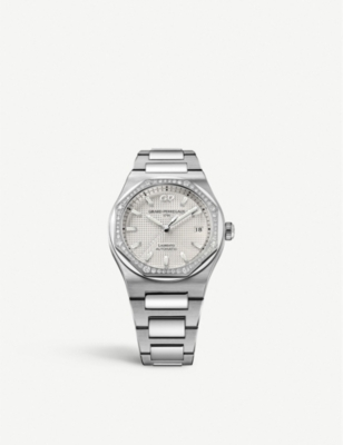 GIRARD-PERREGAUX 81005-D11-A131-11A Laureato stainless steel and watch