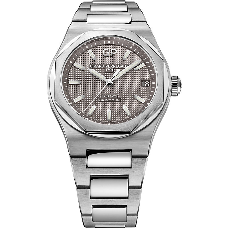 GIRARD-PERREGAUX | 81010-11-231-11A Laureato Stainless Steel Watch | Goxip