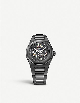 GIRARD-PERREGAUX: 810153200132A Laureato ceramic watch