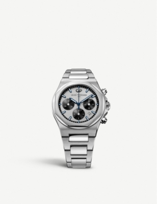 GIRARD-PERREGAUX 81020-11-131-11A Laureato Chronograph steel watch