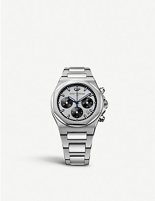GIRARD-PERREGAUX: 810401113111A Laureato stainless steel watch