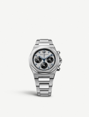GIRARD-PERREGAUX 810401113111A Laureato stainless steel watch